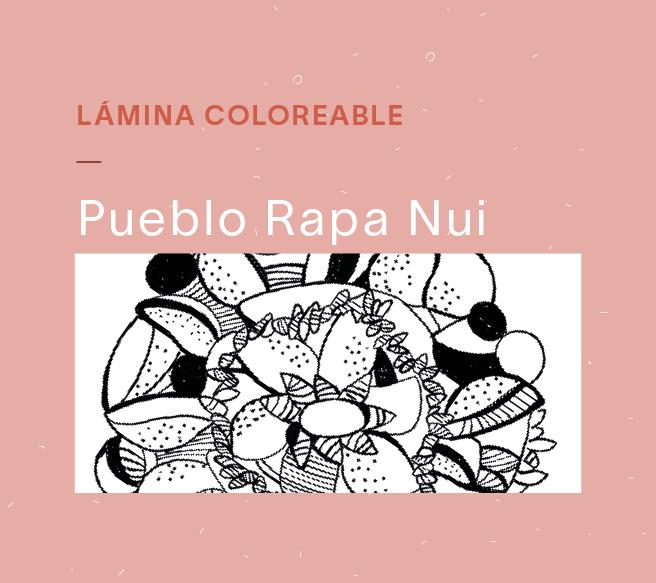 Láminas coloreables – Rapa Nui