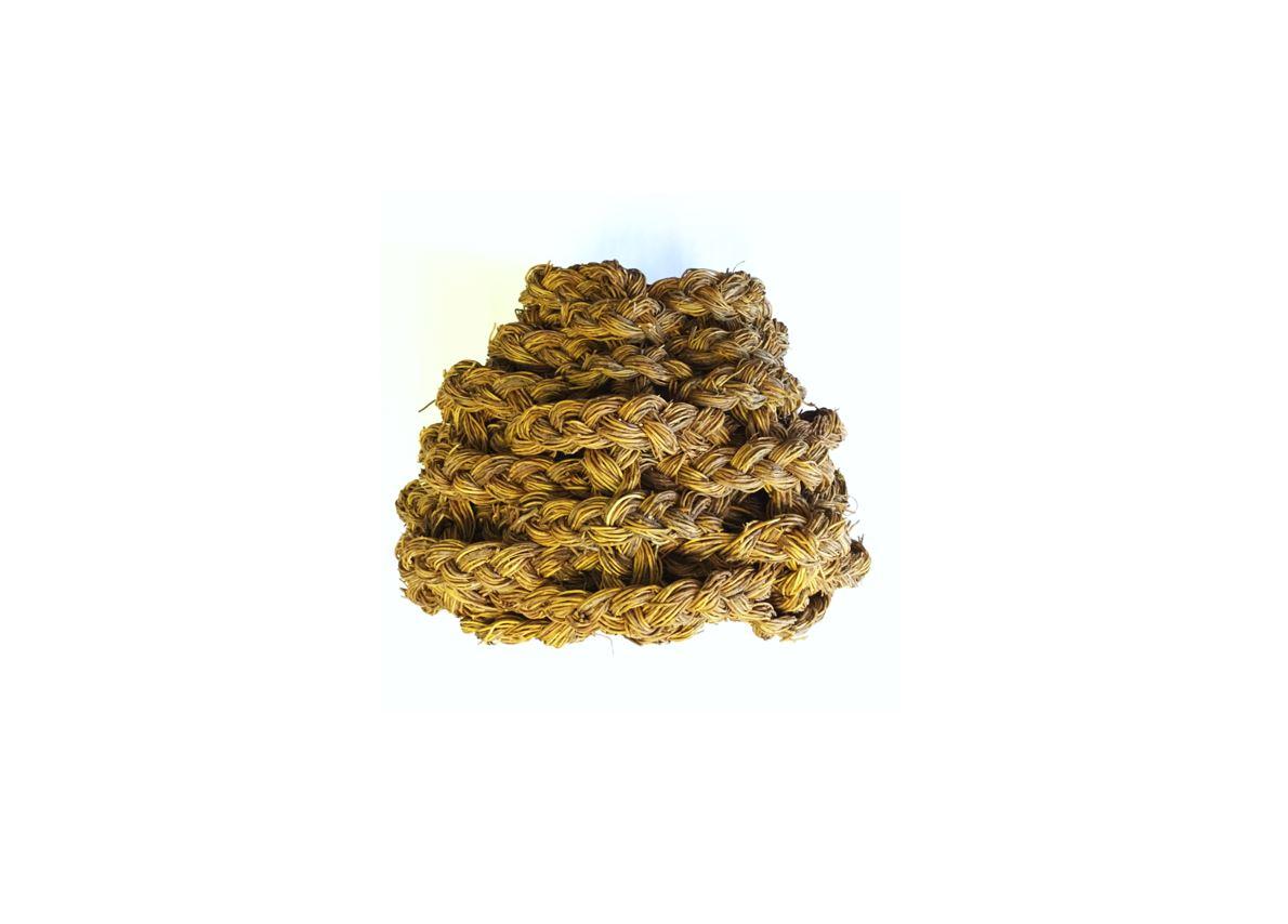 Canasto trenzado de quilineja