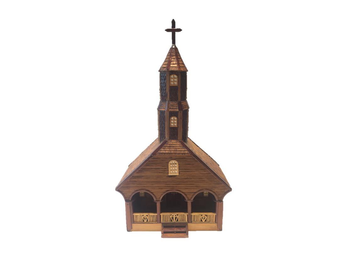 Maqueta Iglesia Colo Chiloé