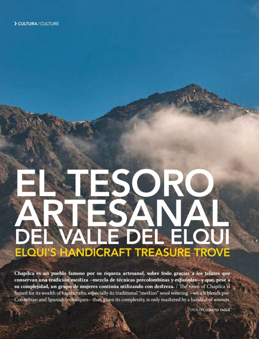 EL TESORO ARTESANAL DEL VALLE DEL ELQUI – Revista Sky