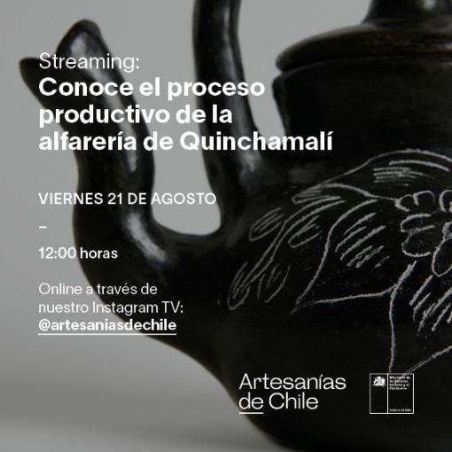 Streaming Proceso Productivo Quinchamalí