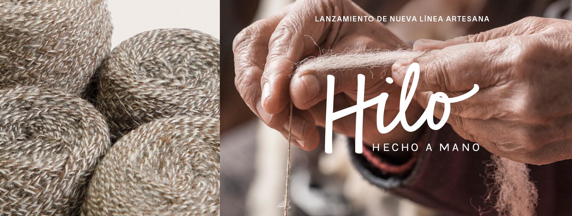 """""""HILO HECHO A MANO"""": nueva línea para revalorizar a las hilanderas"""
