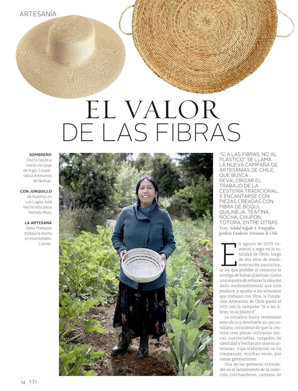 EL VALOR DE LAS FIBRAS – Revista Vivienda y Decoración